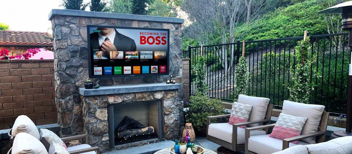 best outdoor tv