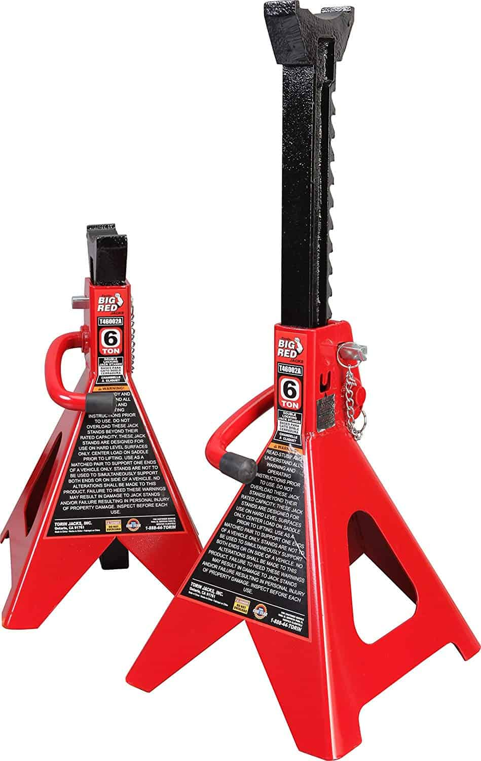 Torin T46002A Double Locking Jack Stand